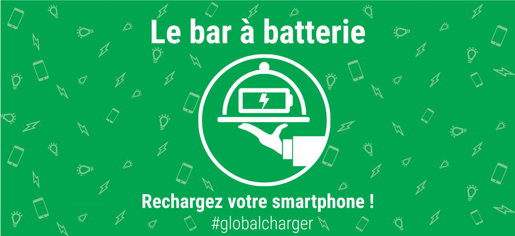 Le bar à batterie Global Charger